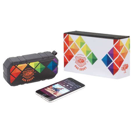 Brick Outdoor Bluetooth Speaker w/ Full Color Wrap