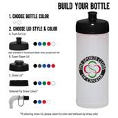16-oz. Sports Bottle - Natural/White
