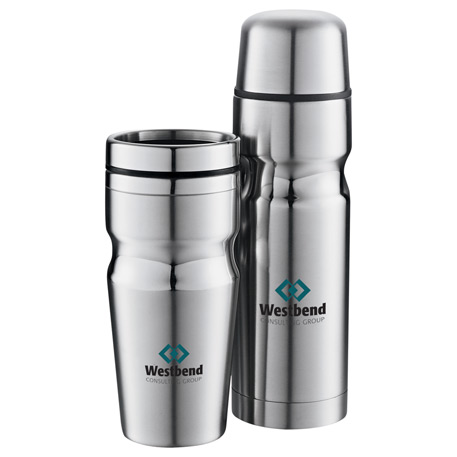 Deco Band Insulated Bottle & Tumbler Gift Set 18oz