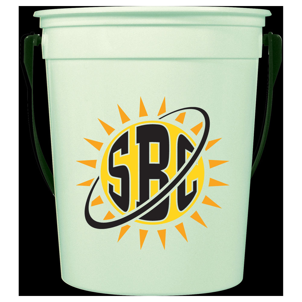 32oz Glow-in--Dark Pail with Handle