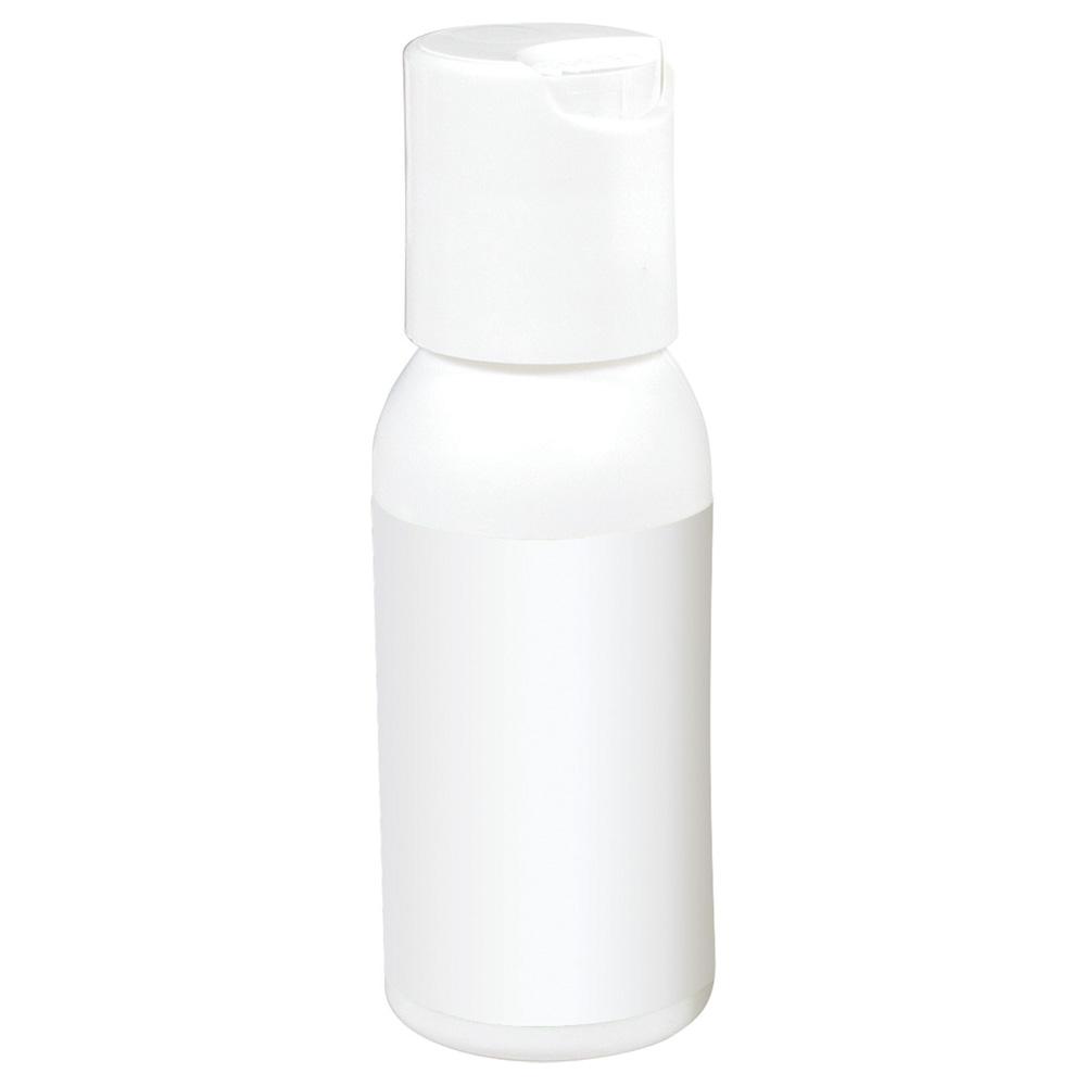 1oz White Bottle Gel Hand Sanitizer