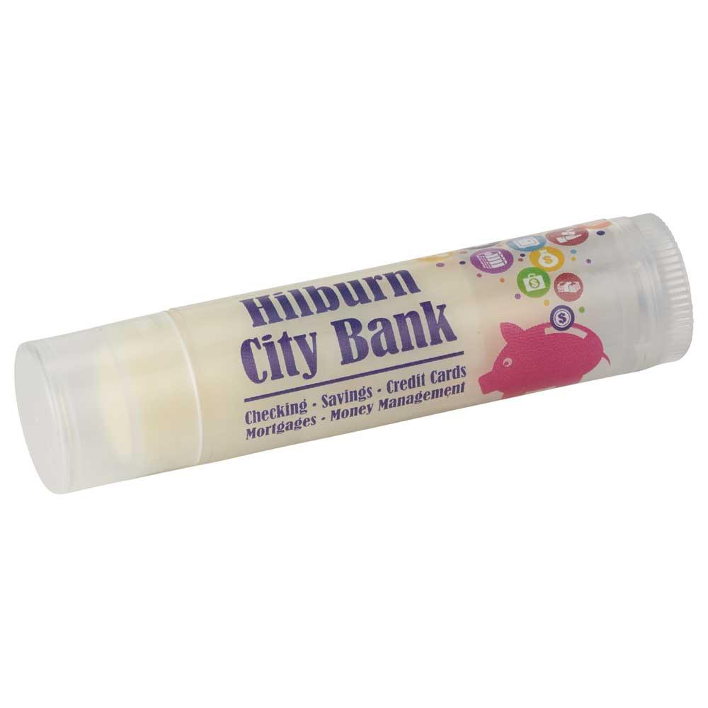 Non-SPF Clear Tube Colorful Lip Balm