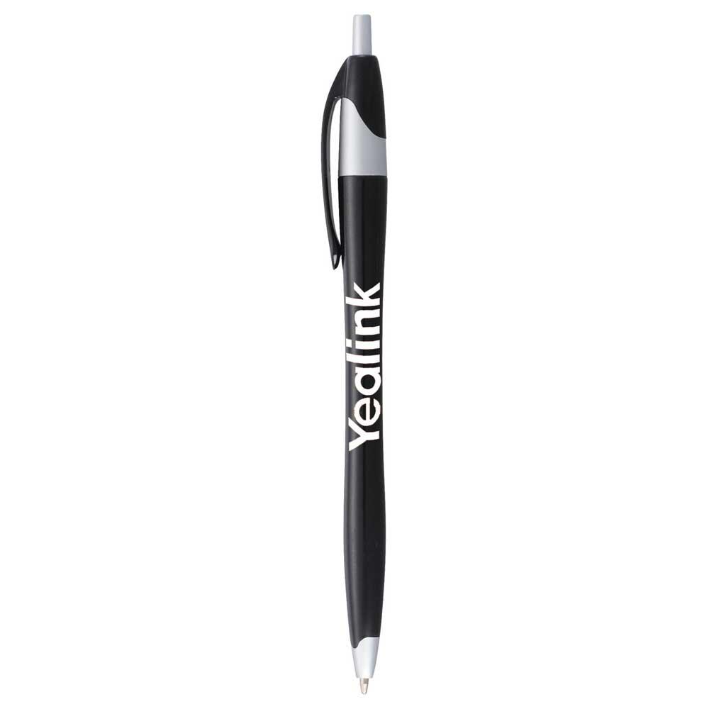 Cougar Ballpoint Pen Black w/ Silver Trim