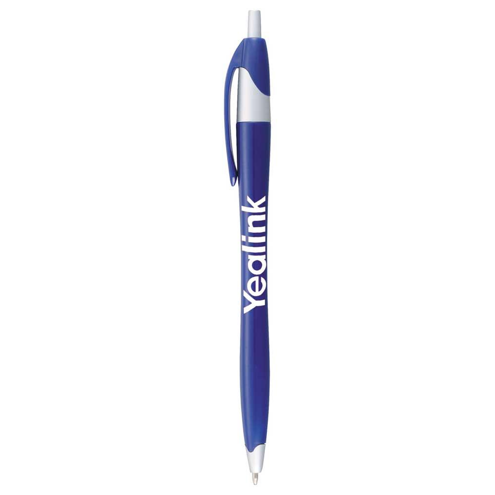 Cougar Ballpoint Pen Blue w/ Silver Trim