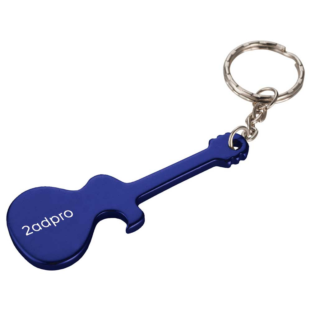 Guitar Bottle Opener Royal Blue