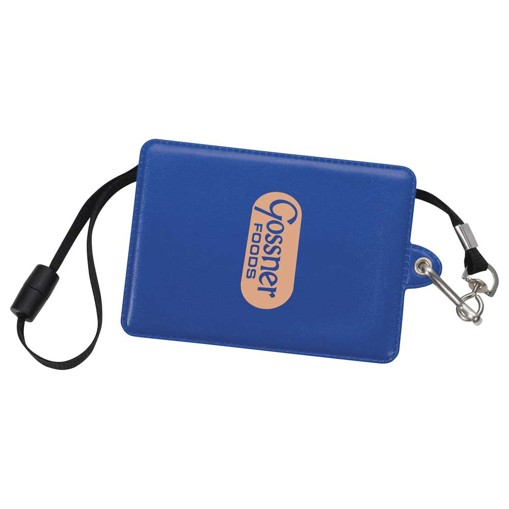 Glory I.D. Holder with Lanyard Royal Blue