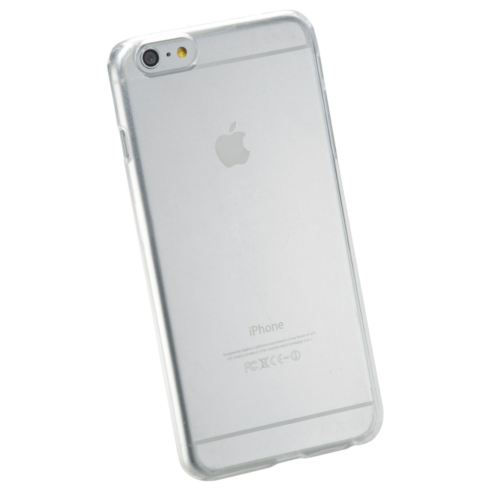 Hard Shell Case for iPhone 6 Plus Clear