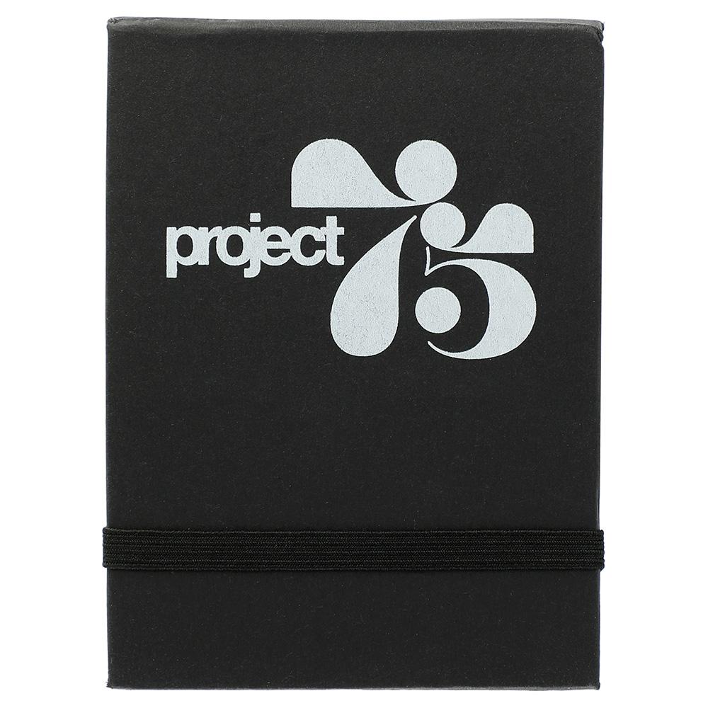 Super Sticky Notes Booklet Black