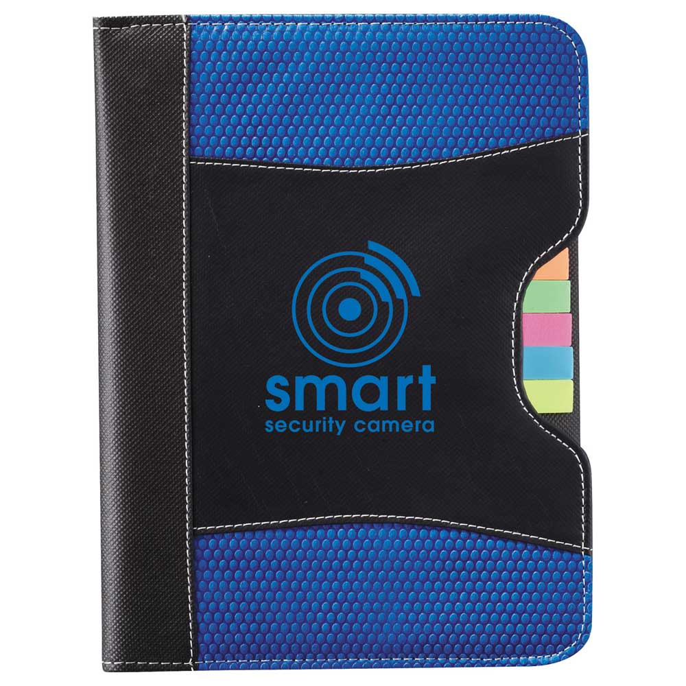 Flare Organization Jr. Padfolio Blue