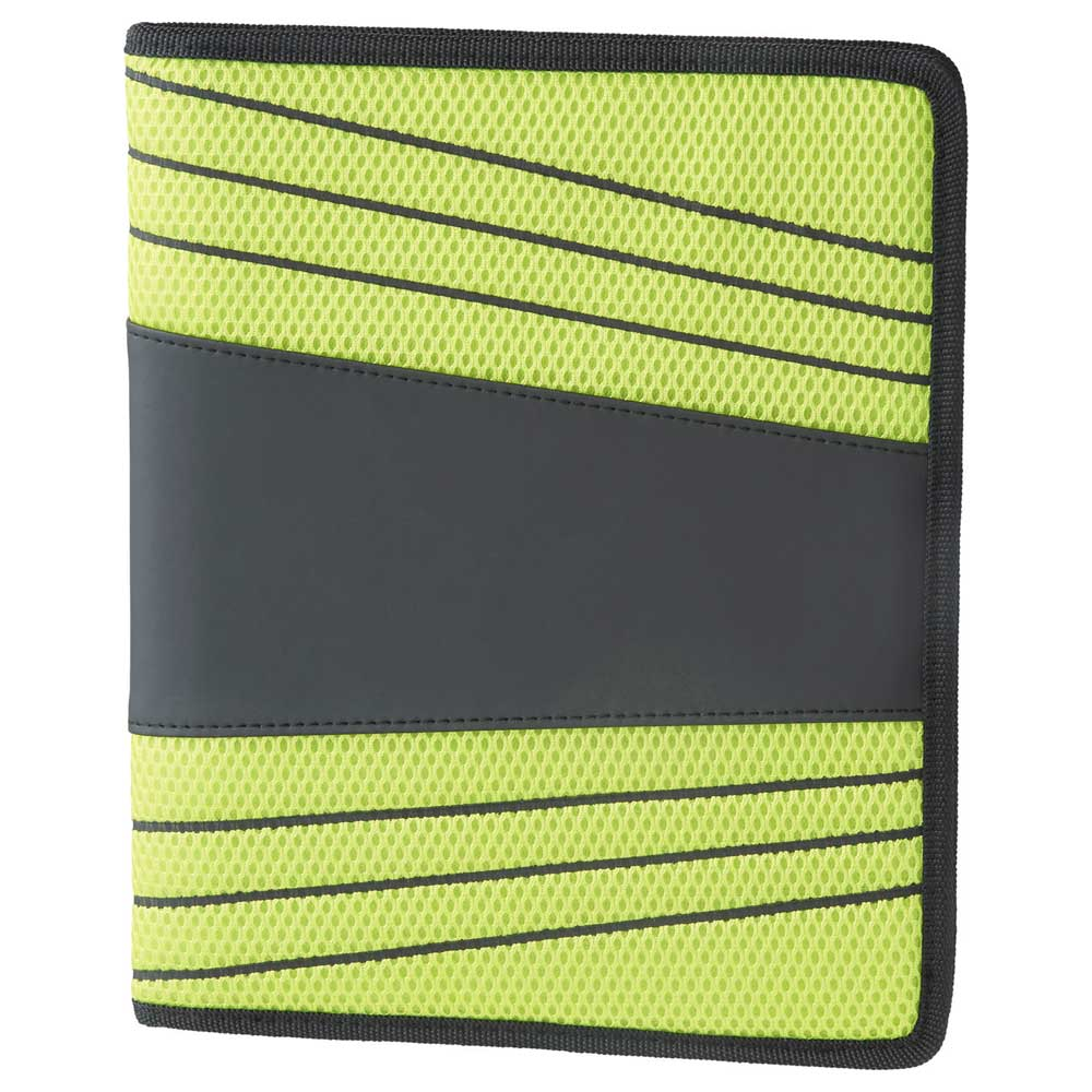 Sneaks Padfolio Lime Green
