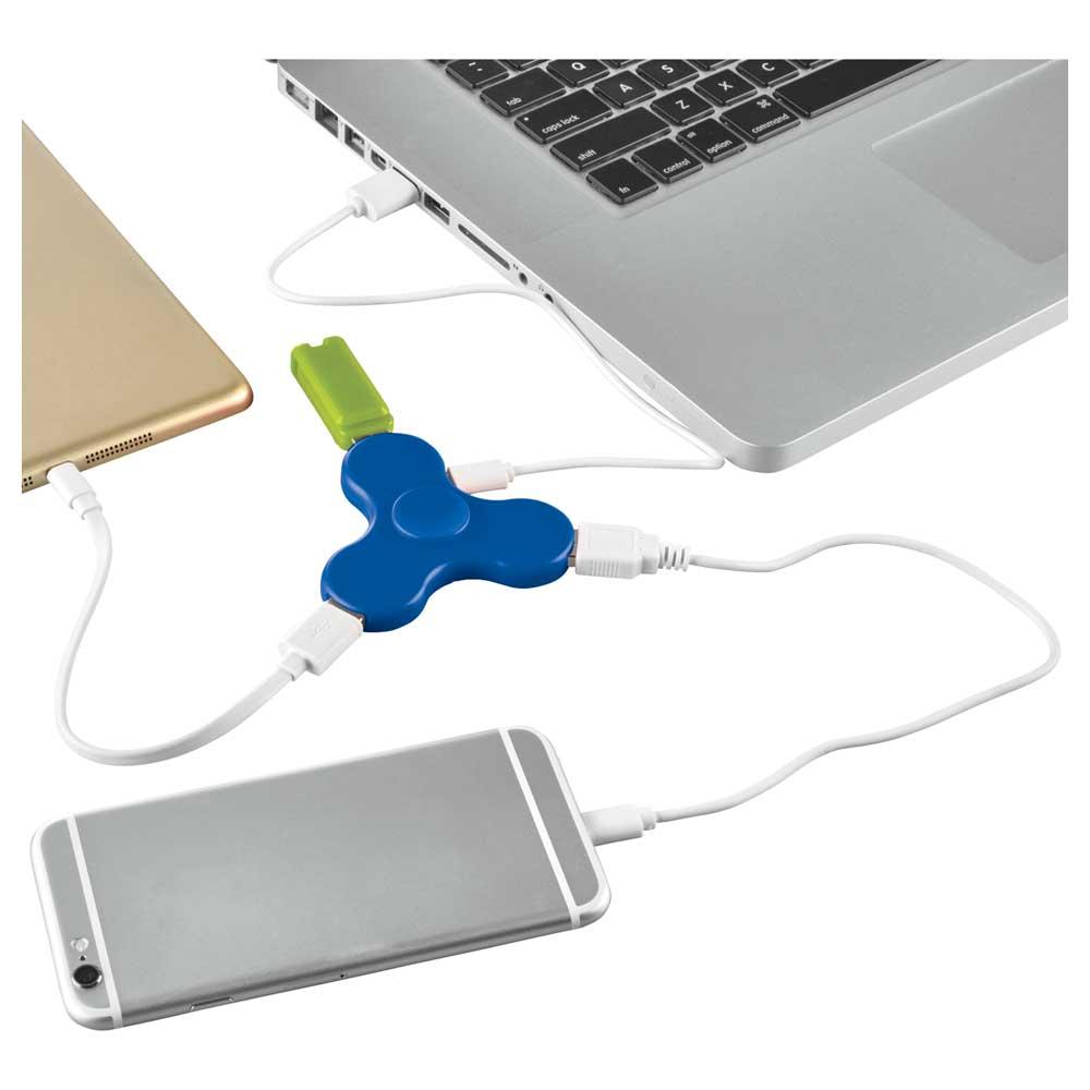Spin-it Widget USB Hub Royal Blue