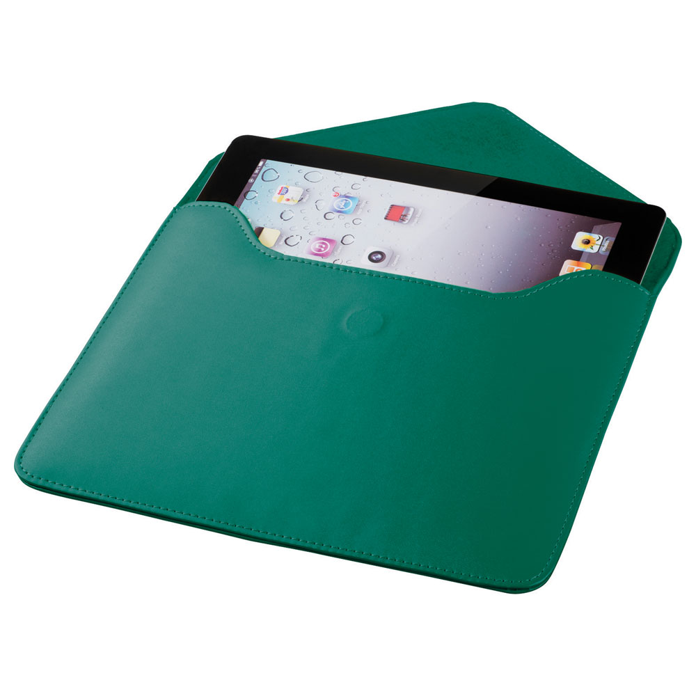 Boulevard Tablet Envelope Green