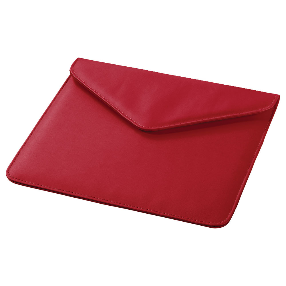 Boulevard Tablet Envelope Red