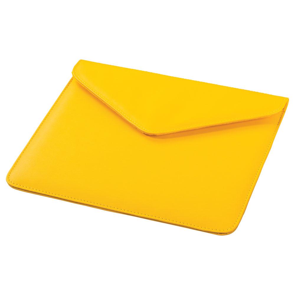 Boulevard Tablet Envelope Yellow