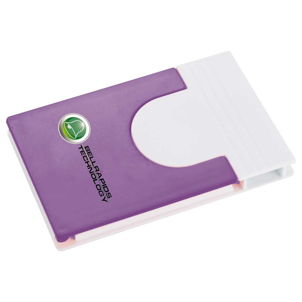 Snap Media Holder with Screen Cleaner Purple