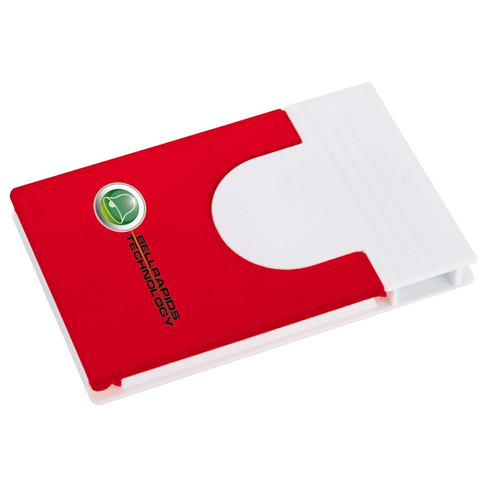 Snap Media Holder with Screen Cleaner Red