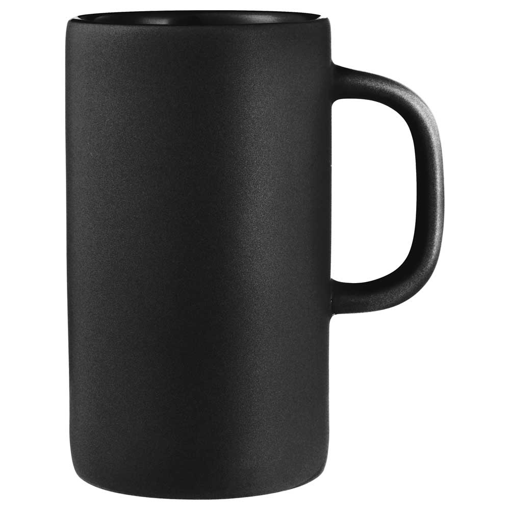 Tall 12oz Ceramic Mug Black
