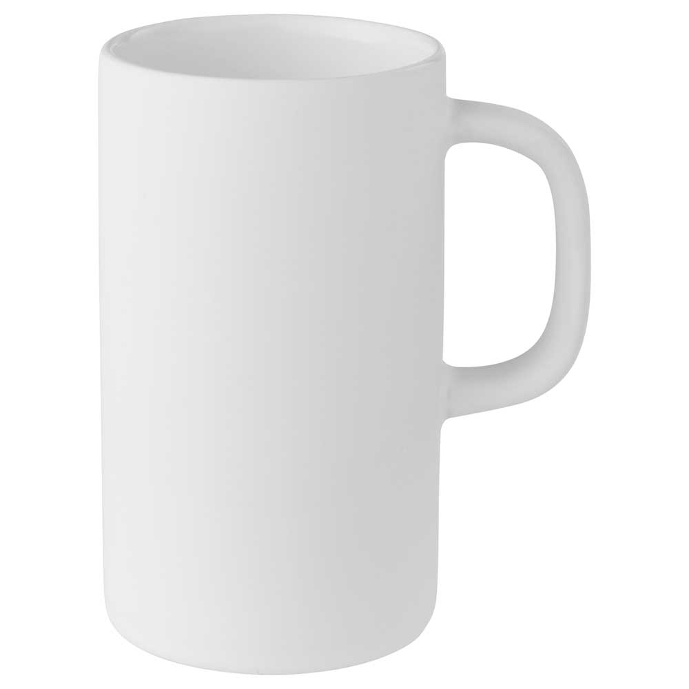 Tall 12oz Ceramic Mug White