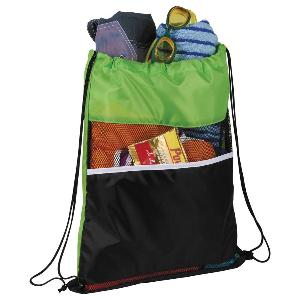 Mesh Up Drawstring Bag