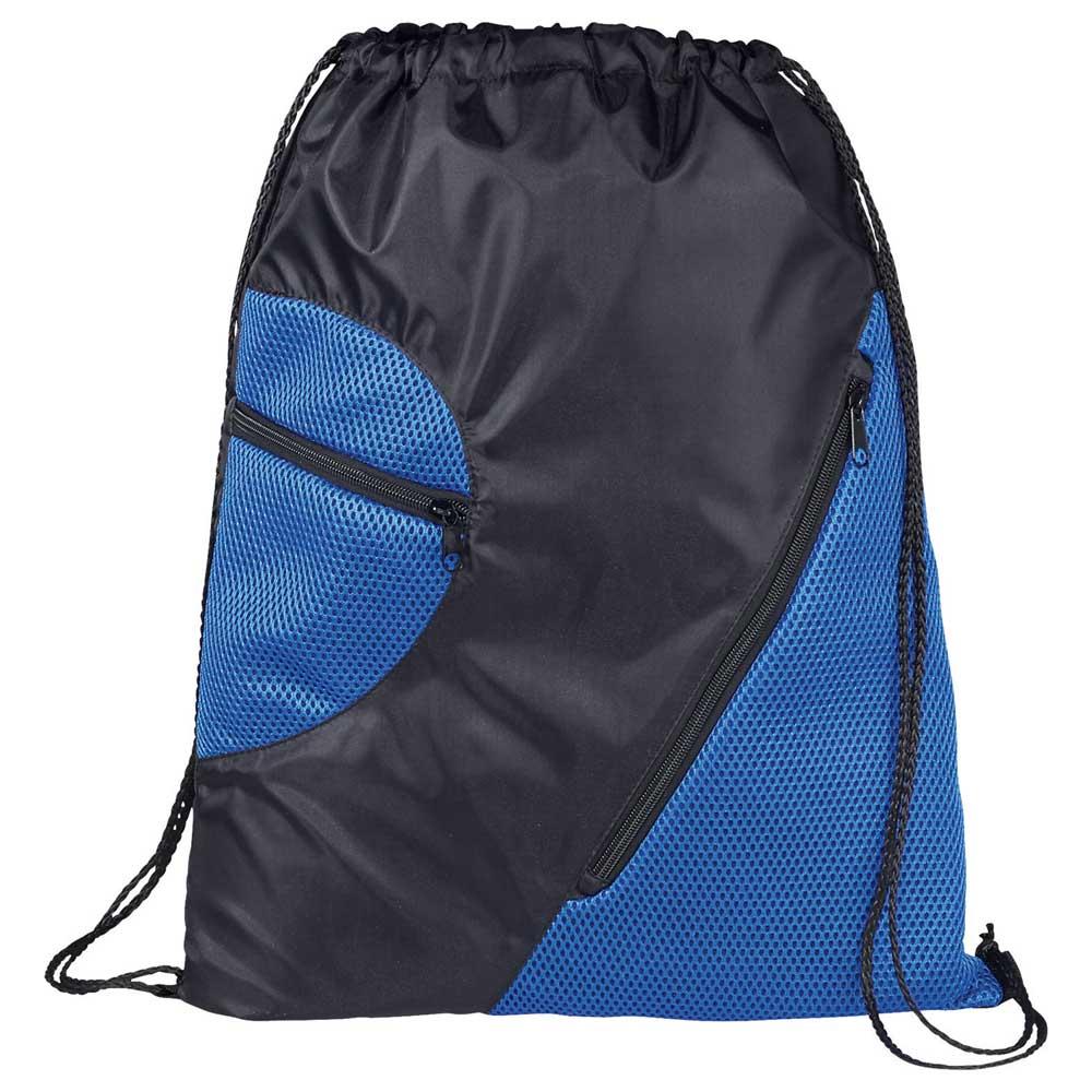 Zippered Mesh Drawstring Sportspack