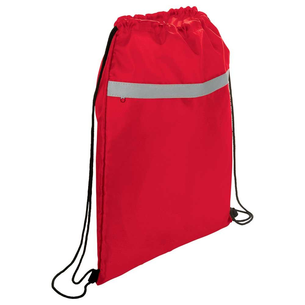 Reflecta Pocket Drawstring Bag Red