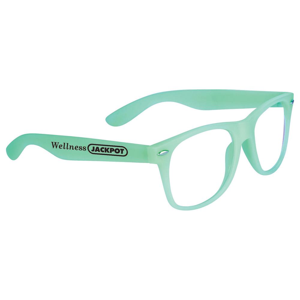 Glow-In-Dark Sun Ray Glasses Green