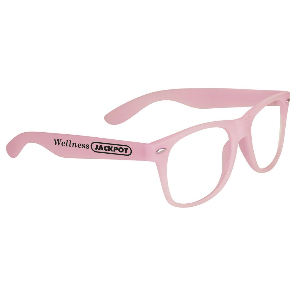 Glow-In-Dark Sun Ray Glasses Pink