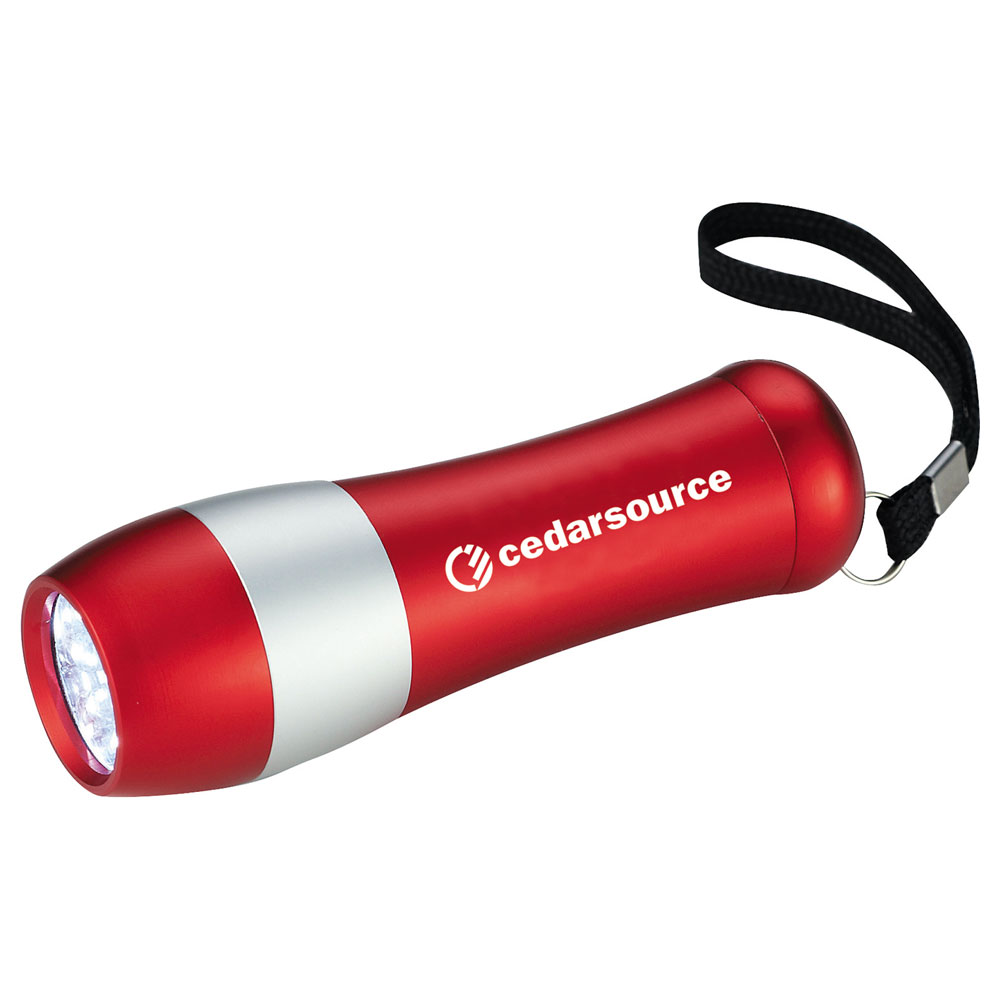 Odon 9-LED Flashlight Red