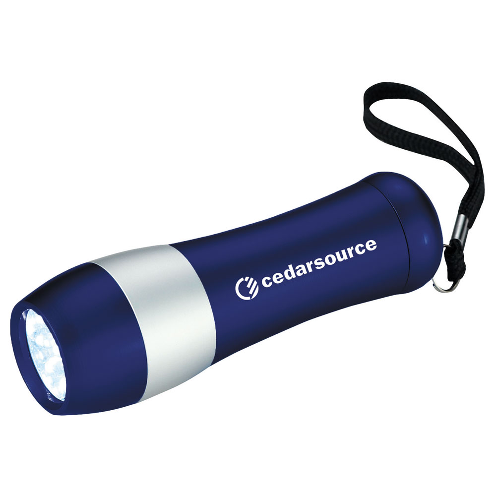 Odon 9-LED Flashlight Royal Blue