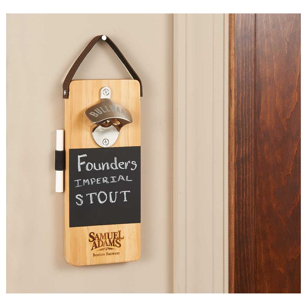 Bullware Wall-Mounted Bottle Opener