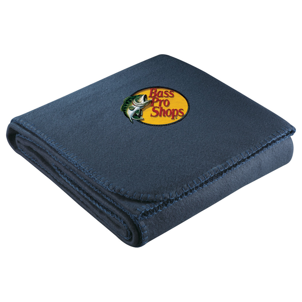 Cozy Fleece Blanket Navy (NY)