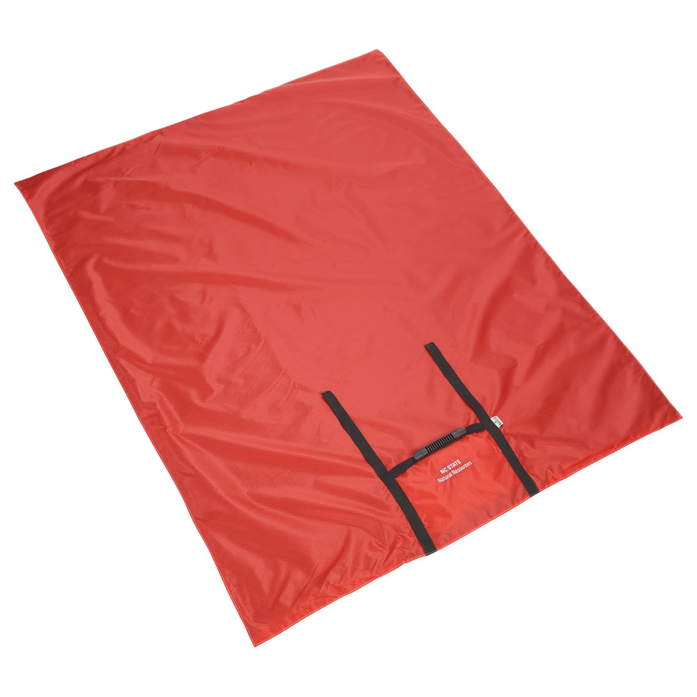 Kanata Tek Explorer Blanket Charcoal/Red
