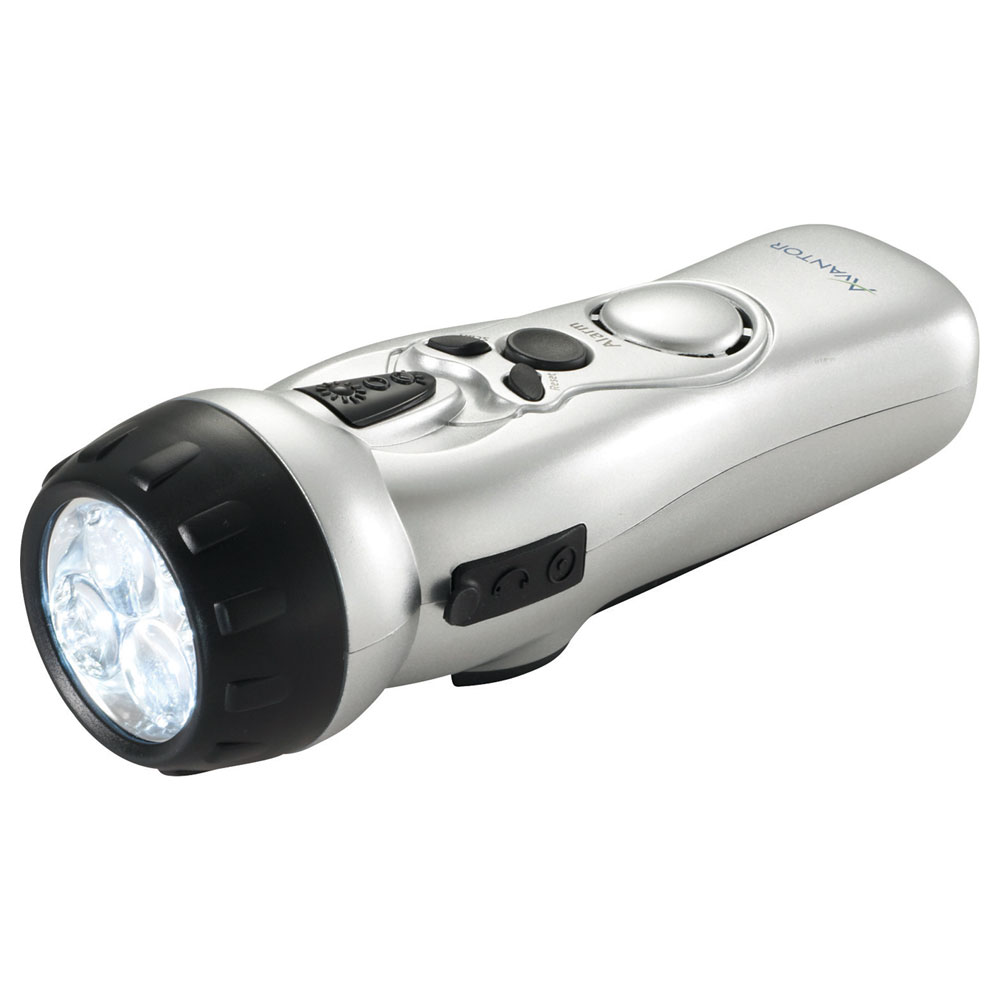 Dynamo Multi-Function Flashlight with USB