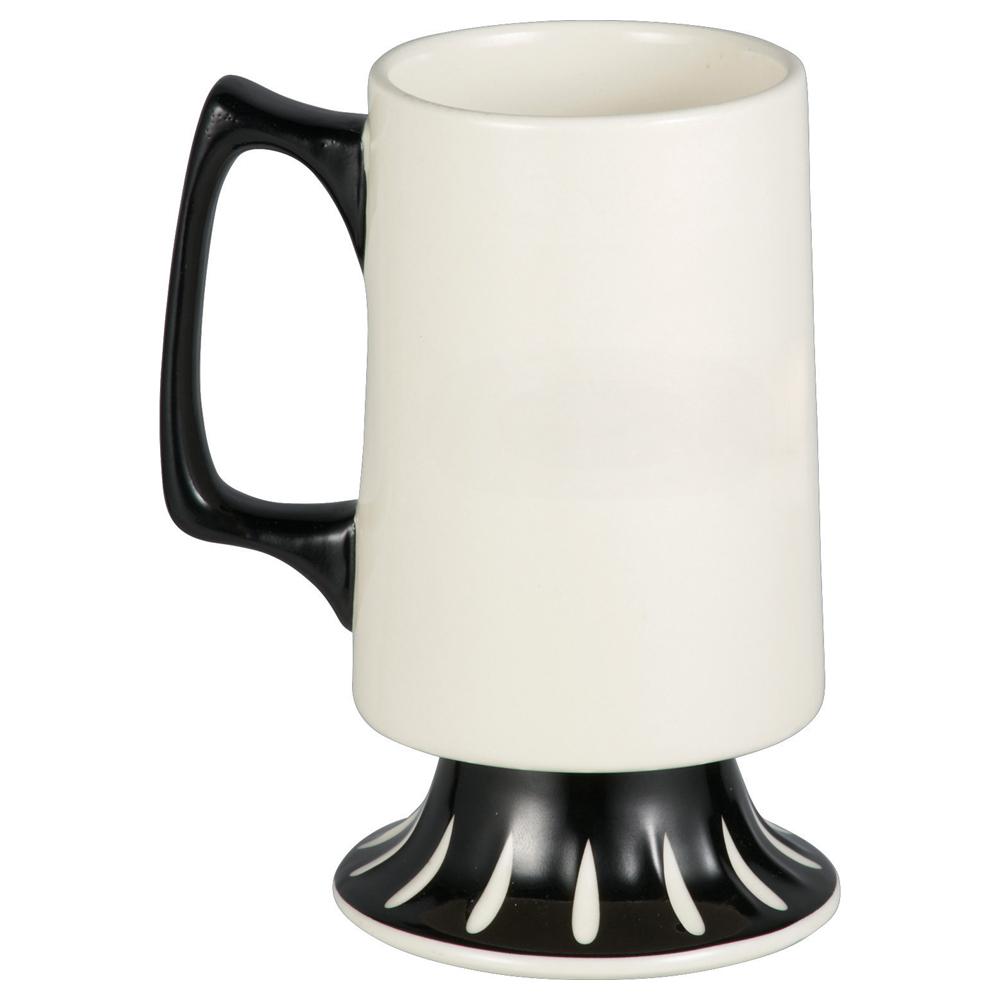 Hipster Mustache Ceramic Mug 12oz