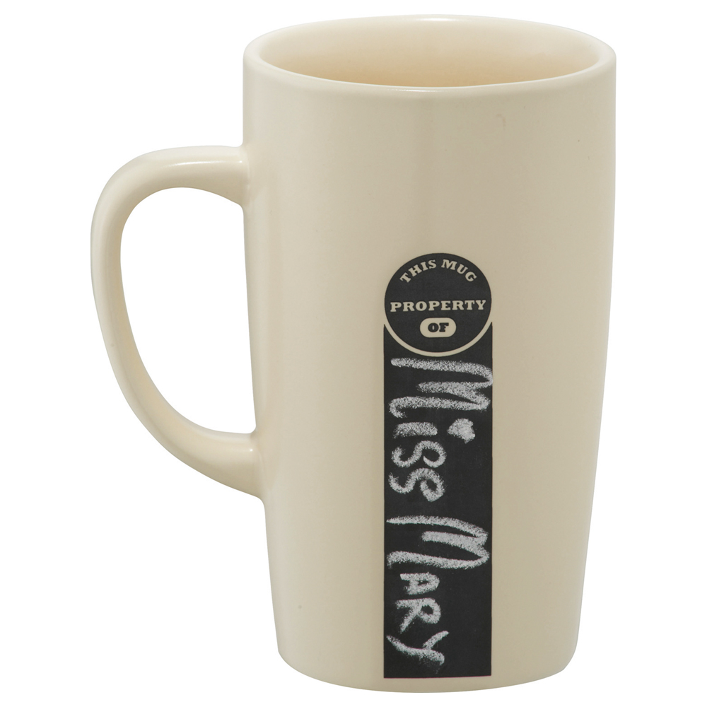 ID Chalkboard Ceramic Mug 16oz