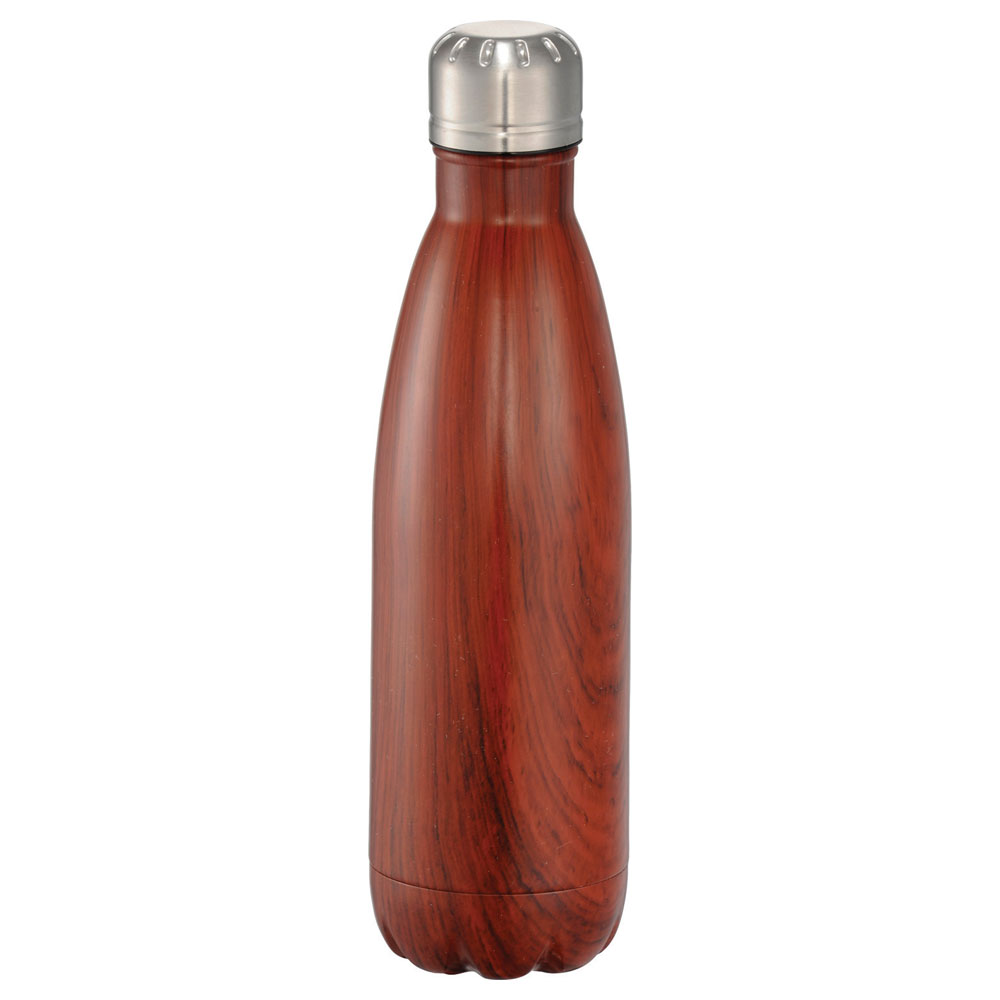 Native Wooden Copper Vacuum Insulated Bottle 17oz