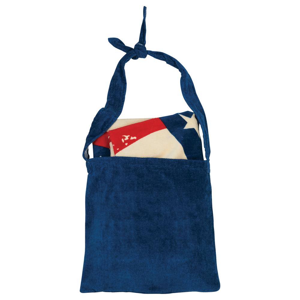 American Flag Towel N' Tote
