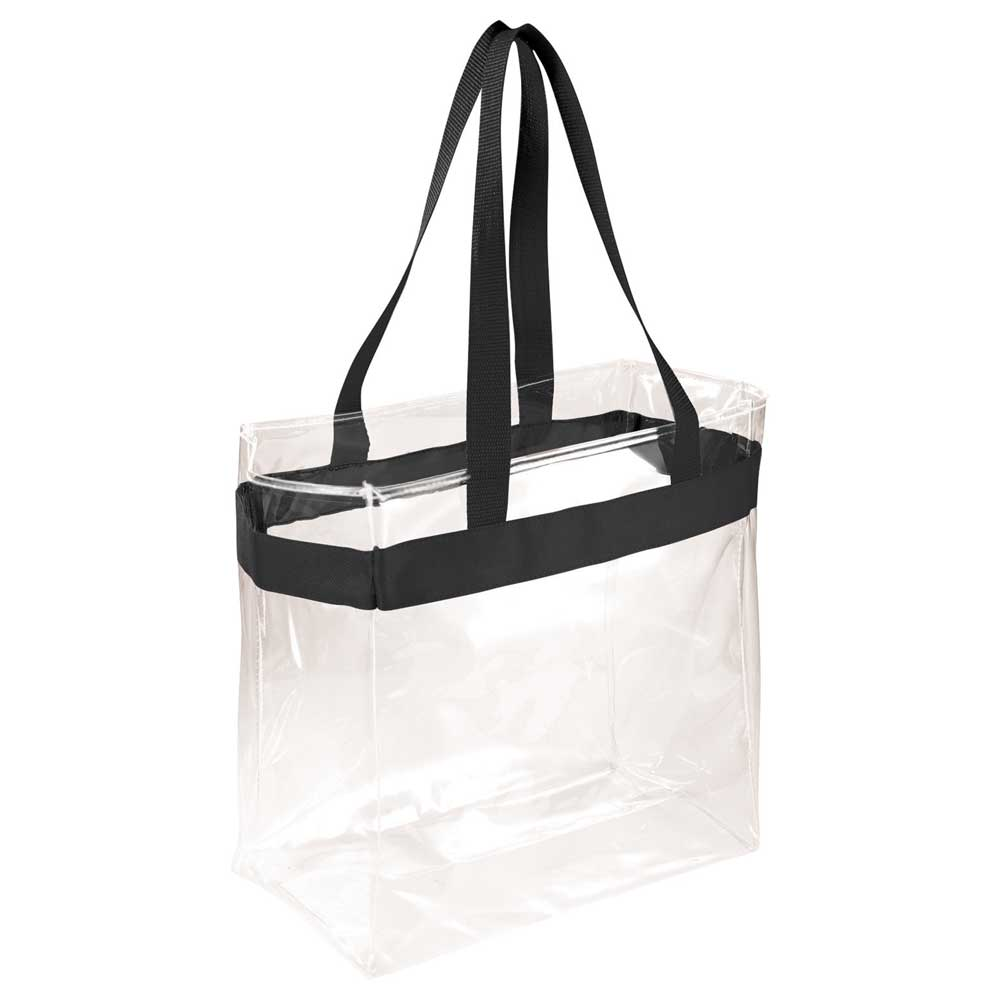 Game Day Clear Stadium Tote Black (BK)