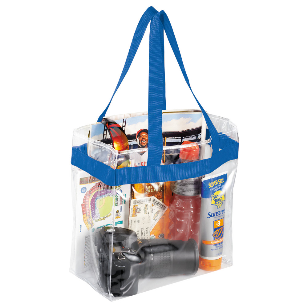 Game Day Clear Stadium Tote Royal (RYL)