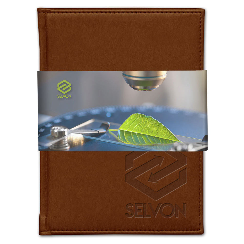 Pedova Graphic Wrap Deboss Plus Bound JournalBook™