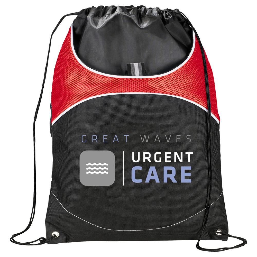 Vista Drawstring Sportspack Red (RD)