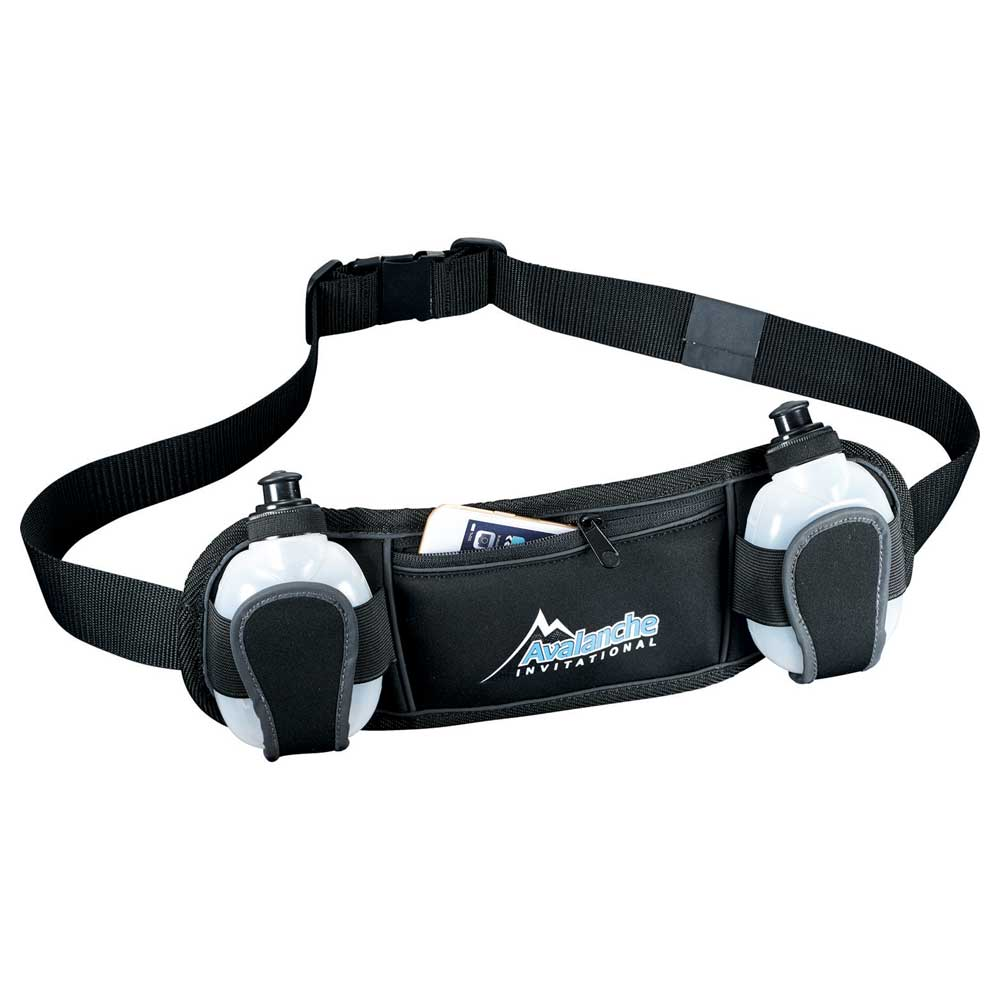 Slazenger Reflective Fitness Hydration Belt