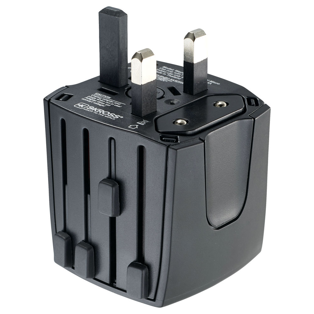 SKROSS World Travel Adapter MUV Micro