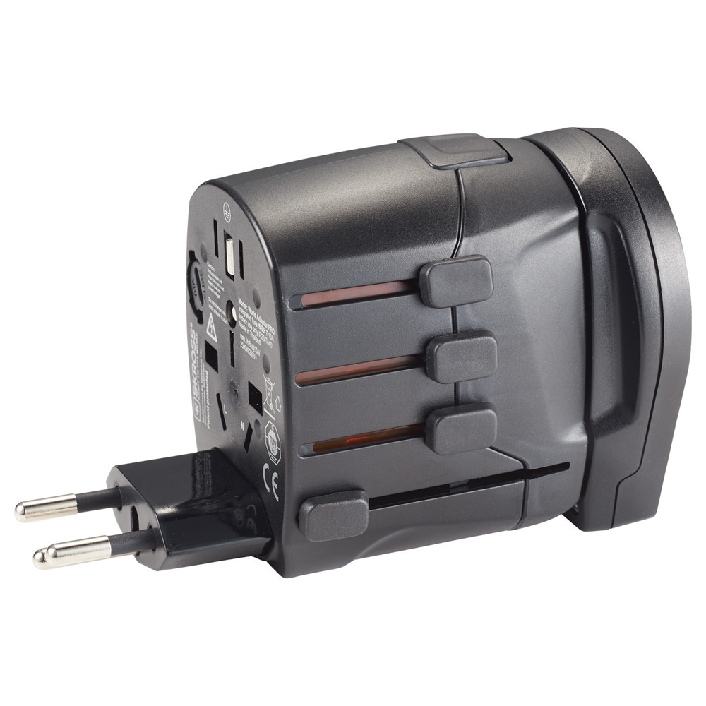 SKROSS World Travel Adapter PRO World & USB