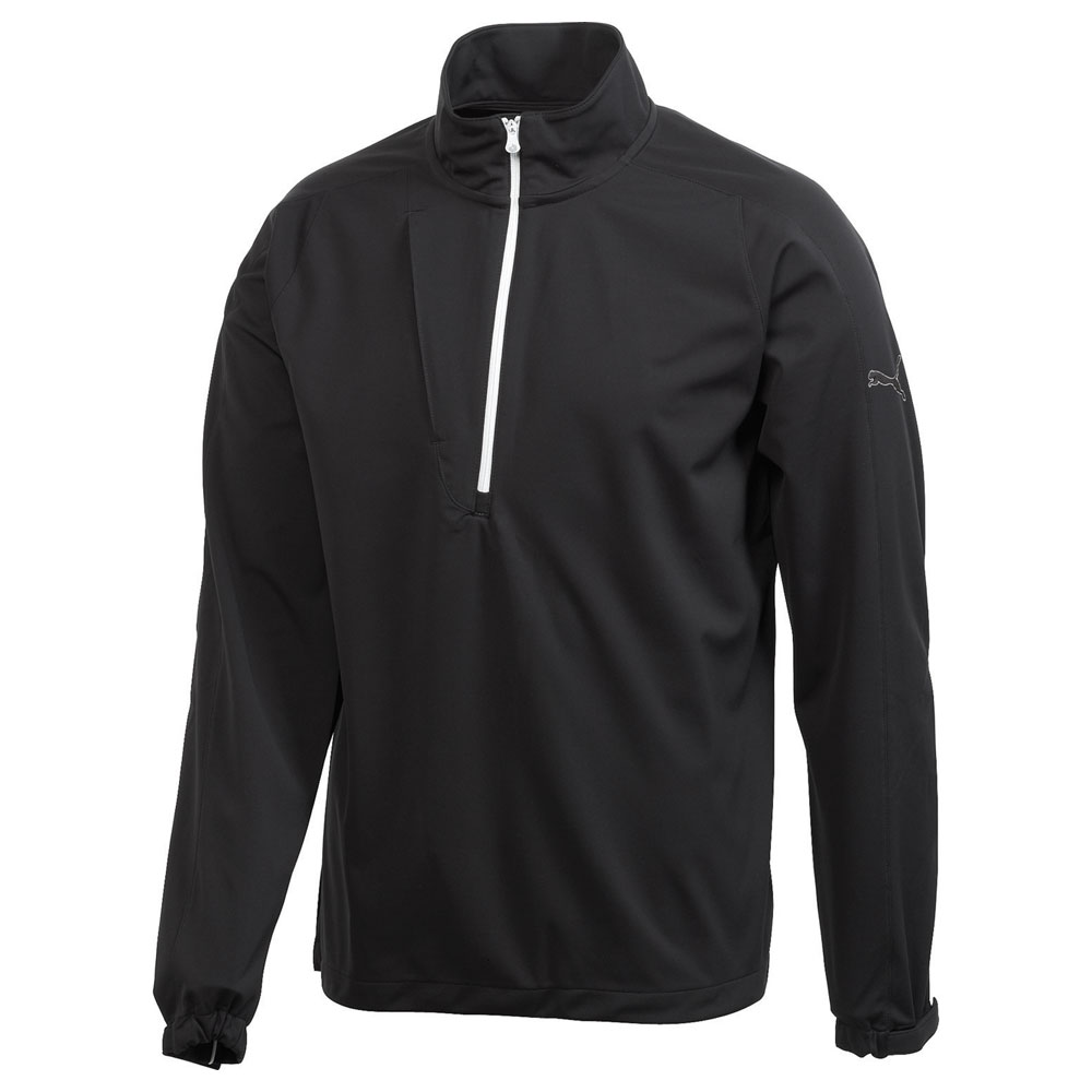 M - PUMA Golf LS Knit Jacket