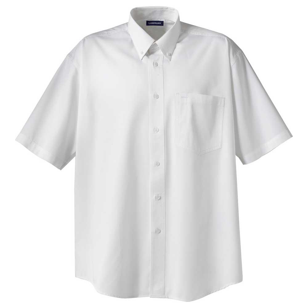 M-Matson Short Sleeve Shirt Tall White (125)