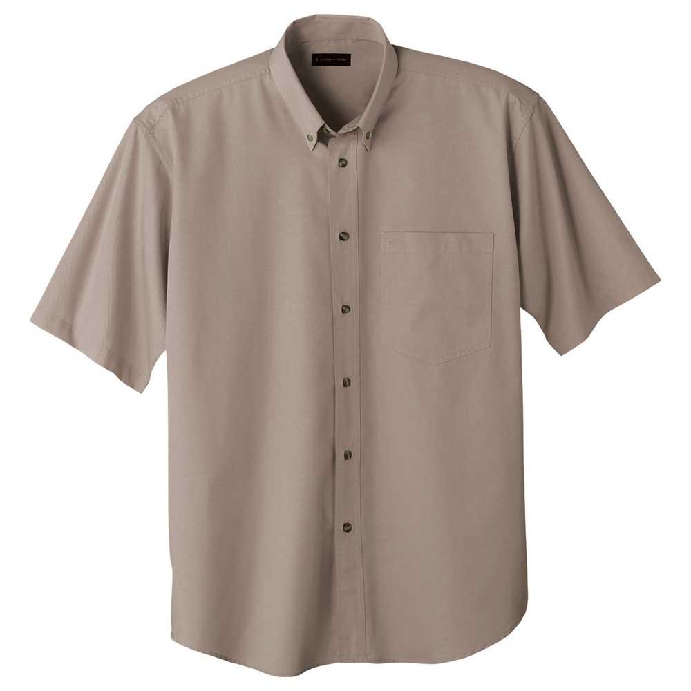 M-Matson Short Sleeve Shirt Tall Tan (160)