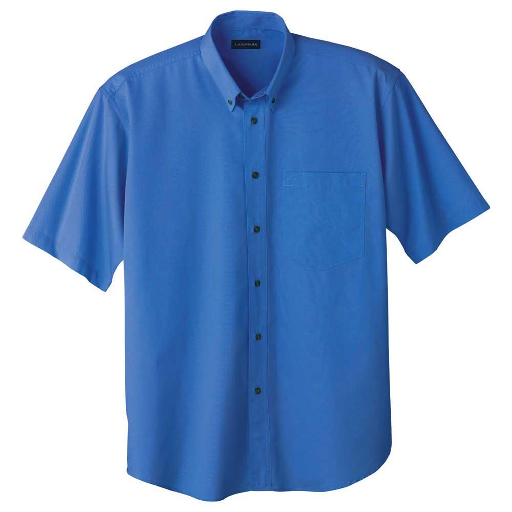 M-Matson Short Sleeve Shirt Tall Blue (480)