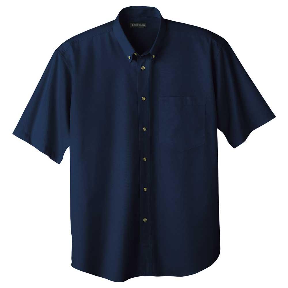 M-Matson Short Sleeve Shirt Tall Navy (575)