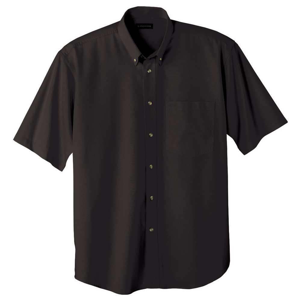 M-Matson Short Sleeve Shirt Tall Black (995)